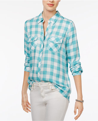 Maison Jules Gingham Shirt, Only at Macy's $59.50 thestylecure.com
