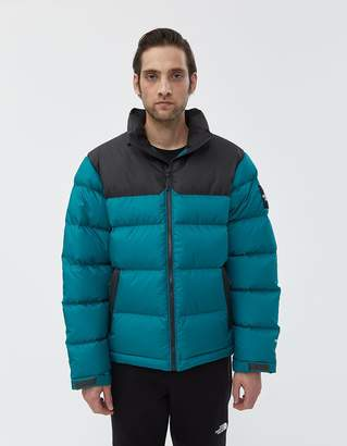 The North Face Black Box 1992 Nuptse Down Jacket in Everglade/Asphalt Grey