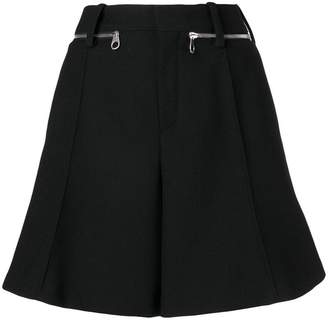 Chloé flared shorts