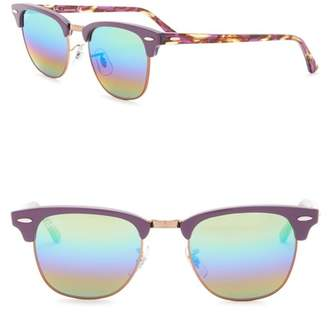 Ray-Ban 49mm Clubmaster Sunglasses
