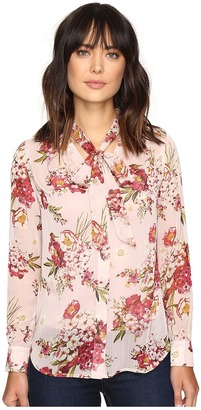 KUT from the Kloth Amelie Tie Front Top $78 thestylecure.com