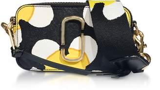 Marc Jacobs Yellow Multi Color Block Snapshot Daisy Camera Bag