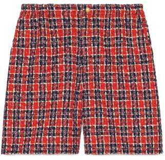 Gucci Tweed check shorts