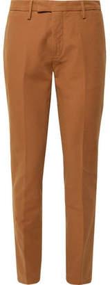 Boglioli Tapered Stretch-Cotton Ottoman Trousers