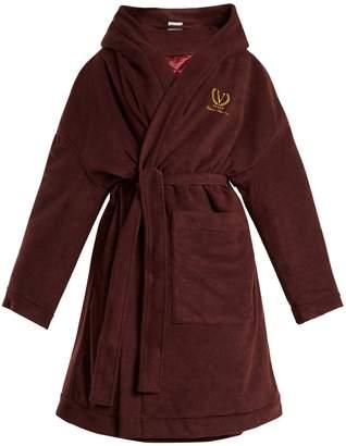 Vetements Tie-waist wool-blend fleece robe coat