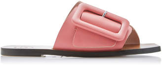 Atelier ATP Ceci Buckled Leather Slides