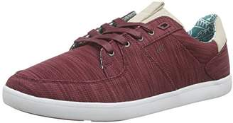 5fcf46f73c5b ... Boxfresh Men s CLADD FLK MESH SDE Low-Top Sneakers Red Size