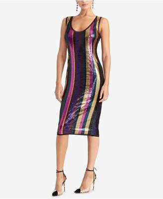 Rachel Roy Veda Sequined Sheath Dress