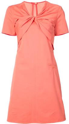 Carven twist neck dress