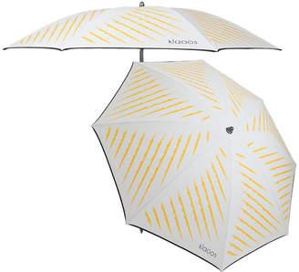 Klaoos - The Captivating Beach Umbrella - White/Yellow