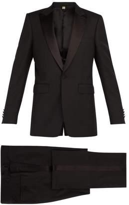 Burberry Marylebone Wool Blend Tuxedo - Mens - Black
