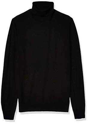 Goodthreads Amazon Brand Men's Merino Wool/Acrylic Turtleneck Sweater