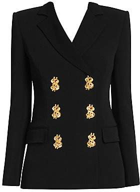 Moschino Women's Prize Winner Double-Breasted Blazer