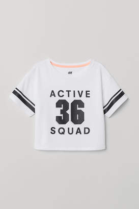 H&M Wide sports top