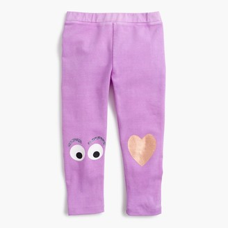 Girls' everyday cropped leggings with Max Monster knee patch $26.50 thestylecure.com