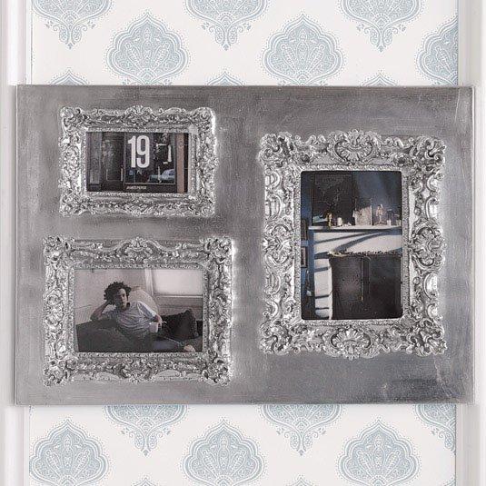 Ruffle Multi Frame - Silver