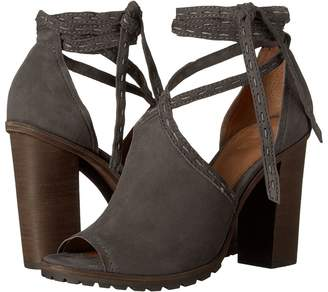Frye Suzie Pickstitch Lug Women's Toe Open Shoes