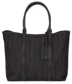 BOSS Hugo Denim Tote Bag Cannes Tote Denim One Size Black