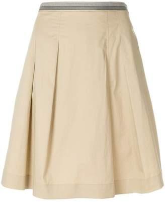 Paul Smith A-line pleated skirt