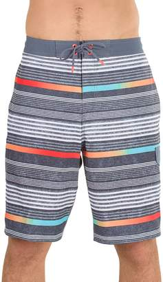 Speedo Men's Ingrain Stripe Board Shorts