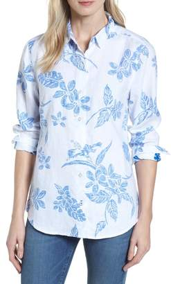 Tommy Bahama Hibiscus Hiatus Long Sleeve Top