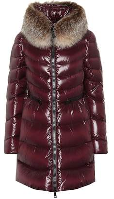 Moncler Hermifur quilted down coat