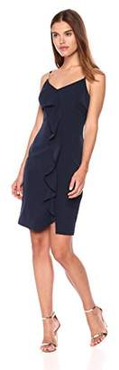 GUESS Women's Dress Ruffle Detail