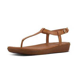 9774df45d64105 FitFlop Women s Tia Toe-Thong Sandals-Leather Open
