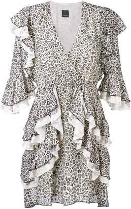 Pinko Gustavo frill dress