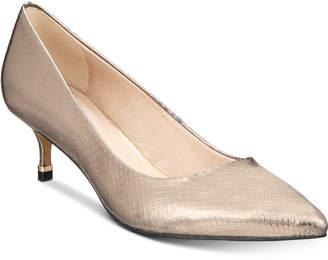 Kenneth Cole New York Morgan Kitten-Heel Pumps Women's Shoes