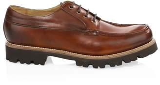 Grenson Buddy Chunky Leather Lace-Up Shoes
