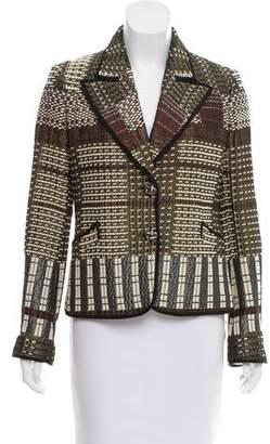 Etro Structured Patterned Blazer