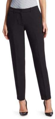 Emporio Armani Fitted Ankle-Length Pants
