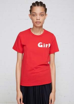 Comme des Garcons Girl Logo T-shirt