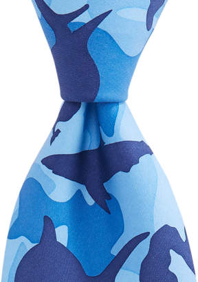 Vineyard Vines Mens Shark Week Camo Tie