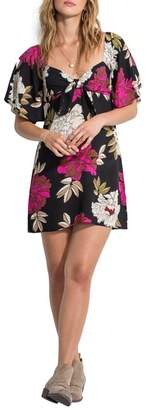 Billabong Delicious Day Floral Print Dress