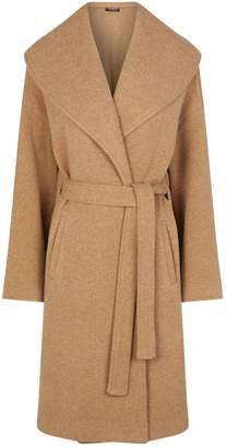 Harrods Cashmere Belted Coat