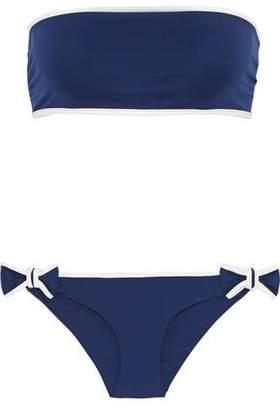 RED Valentino Knotted Bandeau Bikini