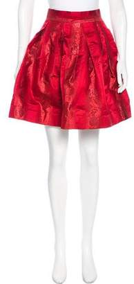 Zac Posen Brocade Circle Skirt