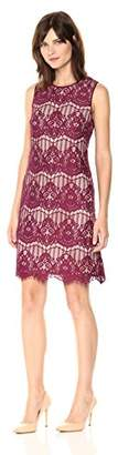 Adrianna Papell Women's Scalloped Lace