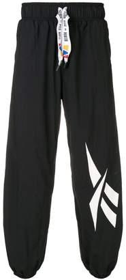 Pyer Moss Reebok By loose fit logo track pants