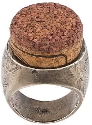silver cork ring