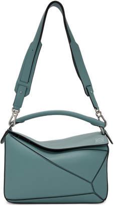 Loewe Blue Puzzle Bag
