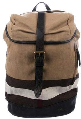 Burberry Drifton House Check Backpack