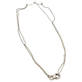 Tiffany & Co. & Co Infinity Silver Silver Necklace