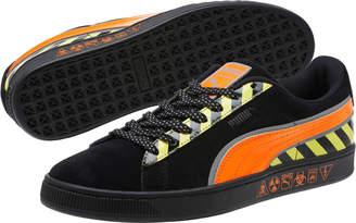 Suede Hazard Sneakers