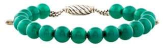 David Yurman Spiritual Beads Bracelet Green Spiritual Beads Bracelet