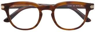 Calvin Klein metallic frame sunglasses