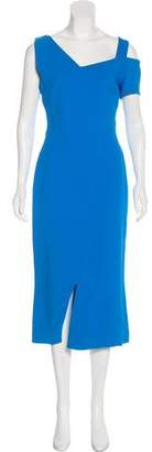 Antonio Berardi Sleeveless Midi Dress