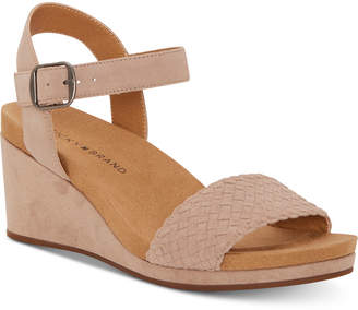 Lucky Brand Women Kenette Wedge Sandals Women Shoes
